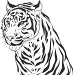 tigre_em_vetor_e02f1272a017e18177f36623d6d8e2af_tigre em vetor para tatuagem